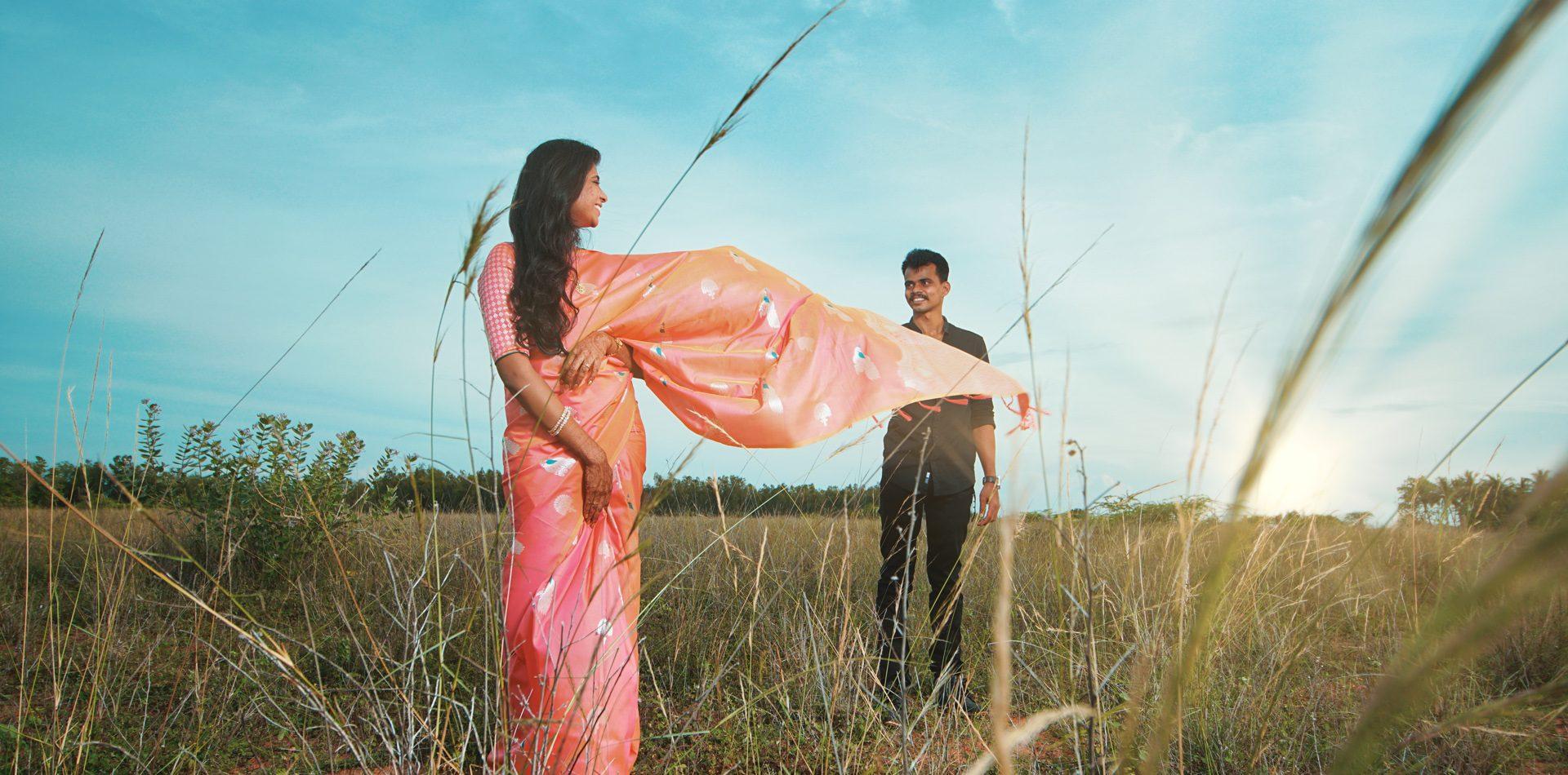 Akino Mercy Ramesh Wedding Pose